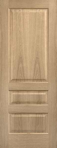 3 Panel Contemporary Oak