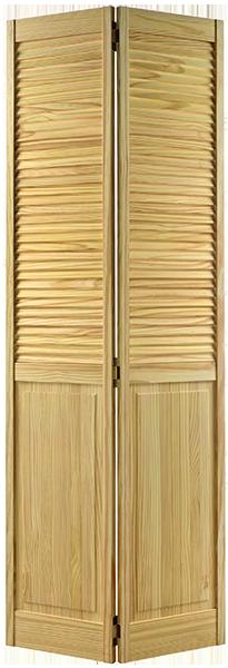 2P-Louvre-Bi-Fold-Clear-Pine