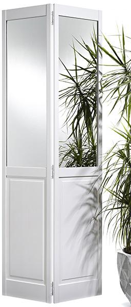 2P/Mirror Bi-Fold White Pine