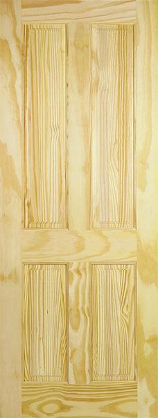 4P-Clear-Pine Door