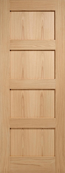 4P Contemporary Oak