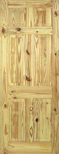6P-Knotty Door