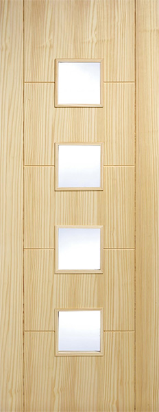 Florida-4L-Clear-Pine-Door