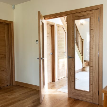 Bespoke Oak Internal Doors